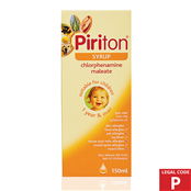 Picture of Piriton Syrup 150ml (P) - 00220392