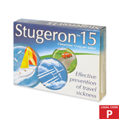 Picture of Stugeron Tablets Travel Pack 15mg (P) - 0282764