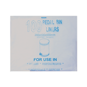 Picture of Cosmos Pedal Bin Liner 11x17x18 7 Micron - 1084L