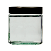 Picture of PK12 30ml Glass Jar & Caps (1doz) - 16GLJ 030W/12