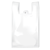 Picture of White Vest Carrier Bags Medium - 22/D12