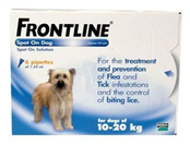 Picture of Frontline Spot Md Dog Pip 10-20Kg 6's - 326-6772