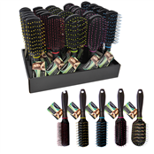 Picture of Silky Smooth Hair Brush Display - 350133