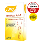 Picture of Kira Low Mood Releif Tablets 30's - 3648797