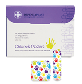 Picture of Childrens Washproof Plasters ASST Pk100 - 633