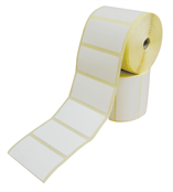 Picture of Plain Dispensing Labels Zebra Printers - 7236TCB