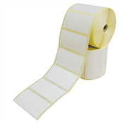Picture of 76x38 Coated Perforated Labels - 7638TCPERF