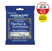 Picture of Jakemans Menthol & Eucalptus 100g - 996051