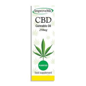 Picture of CBD Oil Drops 250mg 10ml - CBD001