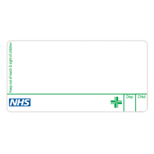 Picture of Green Cross Pharmacy Dispensing Labels - EMT225B