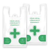 Picture of EMT NHS Vest Pharmacy Carrier Bags - EMTD8