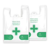 Picture of EMT NHS Vest Pharmacy Carrier Bags - EMTD9