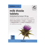 Picture of HS Milk Thistle 125mg Tablets 30's - F6734
