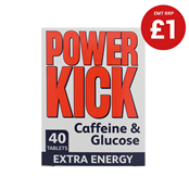Picture of HS Powerkick Caffeine Tablets 40's - F8304