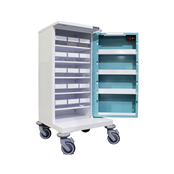 Picture of 15 TRAY COMPACT UNIT DOSAGE TROLLEY - HECT515