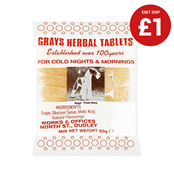 Picture of Grays Herbal Tablets 60g - HERBAL