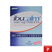 Picture of Ibuprofen Tablets 200mg 48s (P) - IBU002