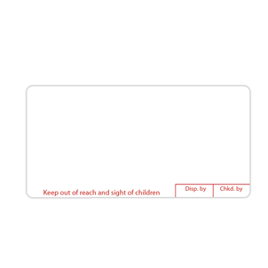 Picture of Generic Dispensing Labels - LAB0463B
