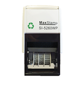 Picture of Maxstamp 5260D Die Plate Dater 41x21mm - MAX5260-D