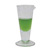 Picture of 18 Grad. Conical Glass Measure 50ml - MEA050SS