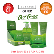 Picture of Embrace Tea Tree Range - OFFER4