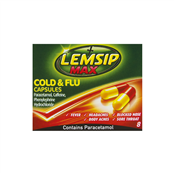 Picture of Lemsip Max Cold & Flu Capsules 8's - RB415027