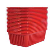 Picture of Medium Baskets Red Packs Of 20 - S03M092