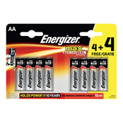 Picture of Energizer Max Batteries AA 4+4 - S10053