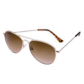 Picture of Foster Grant Aviator Gold Sunglasses - SFGL18000EMT