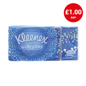 Picture of Kleenex Everyday Tissues 8 Pack - TOKLE046