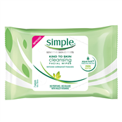 Picture of Simple Kind To Skin Cleansing Wipes 25's - TOSIM079