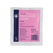 Picture of Non Woven Swabs 5's Sterile 4 Ply 5x5cm - X8500